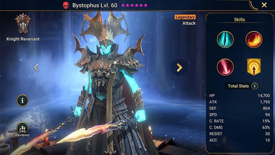 Raid Shadow Legends Bystophus