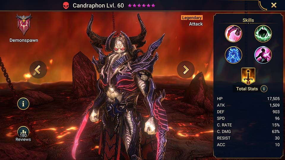 Raid Shadow Legends Candraphon