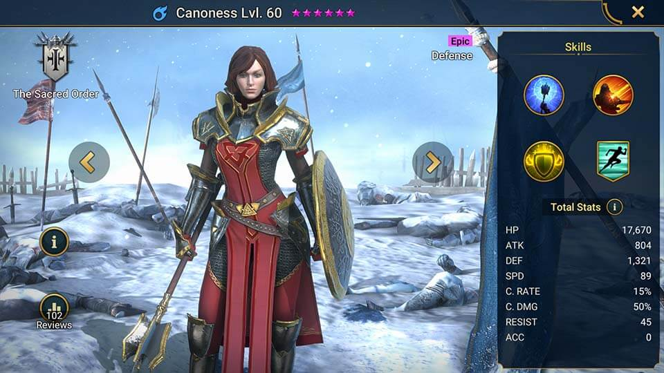 Raid Shadow Legends Canoness