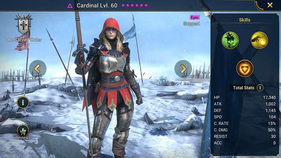 Raid Shadow Legends Cardinal