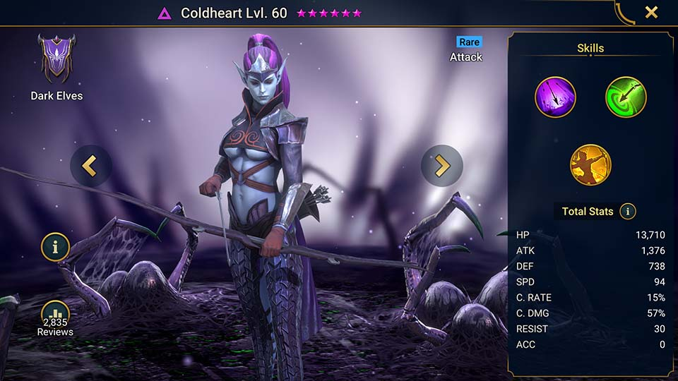 Raid Shadow Legends Coldheart