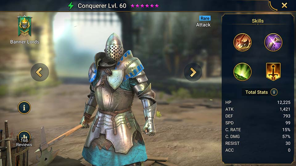 Raid Shadow Legends Conquerer