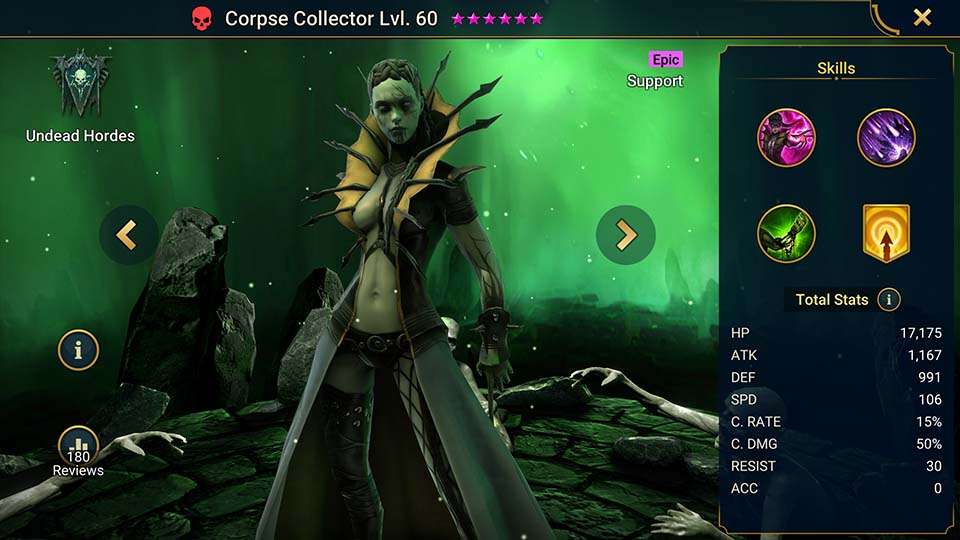 Raid Shadow Legends Corpse Collector 1