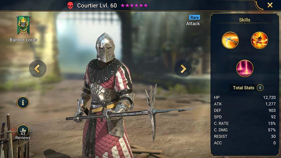 Raid Shadow Legends Courtier