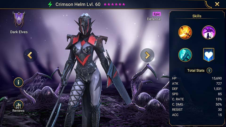 Raid Shadow Legends Crimson Helm