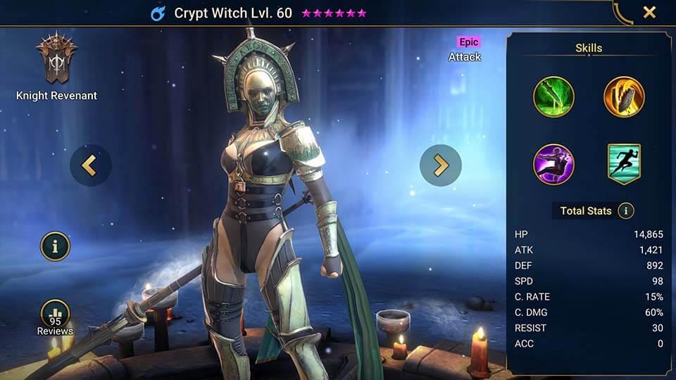 Raid Shadow Legends Crypt Witch