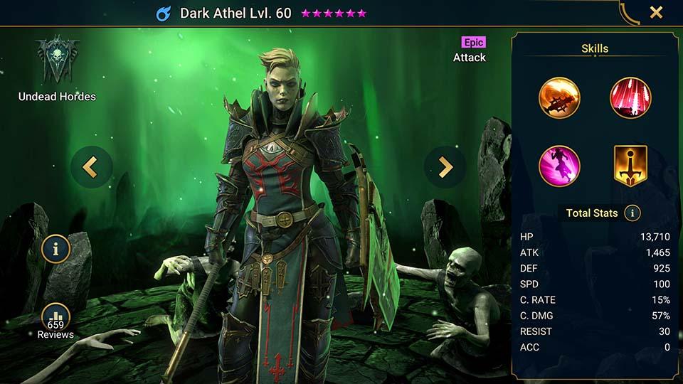 Raid Shadow Legends Dark Athel