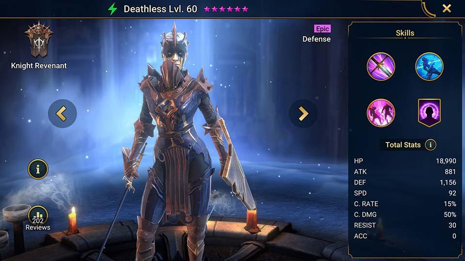 Raid Shadow Legends Deathless