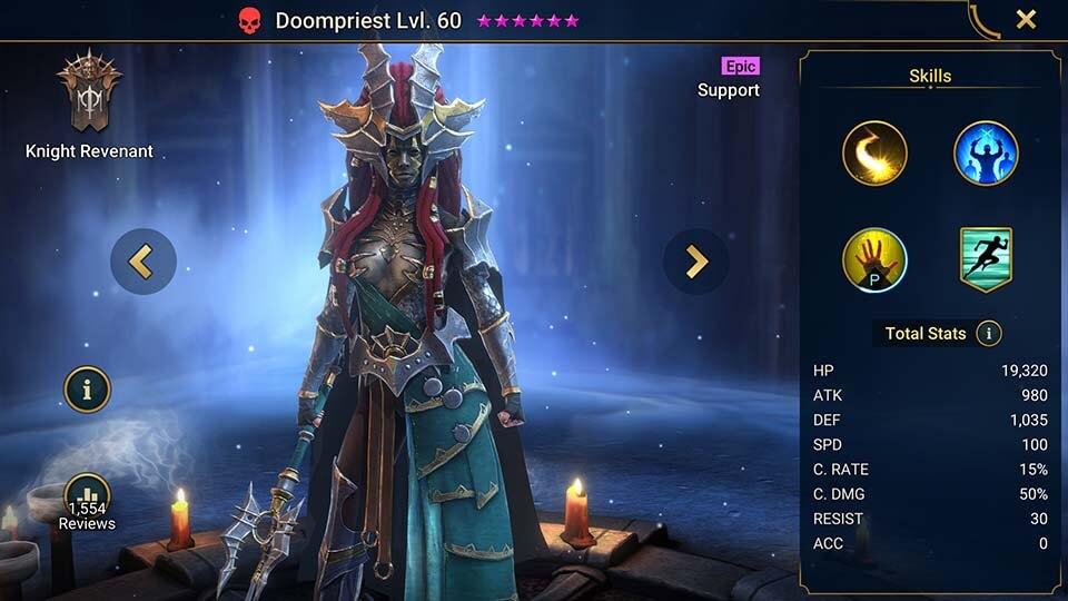 Raid Shadow Legends Doompriest