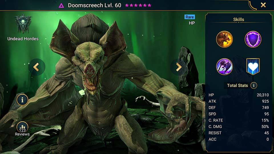 Raid Shadow Legends Doomscreech