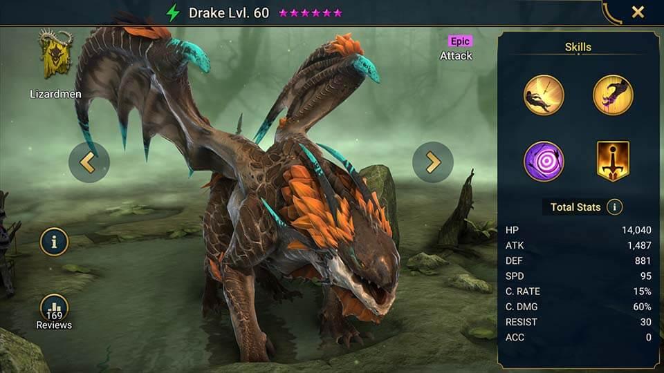 Raid Shadow Legends Drake