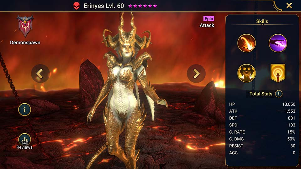 Raid Shadow Legends Erinyes