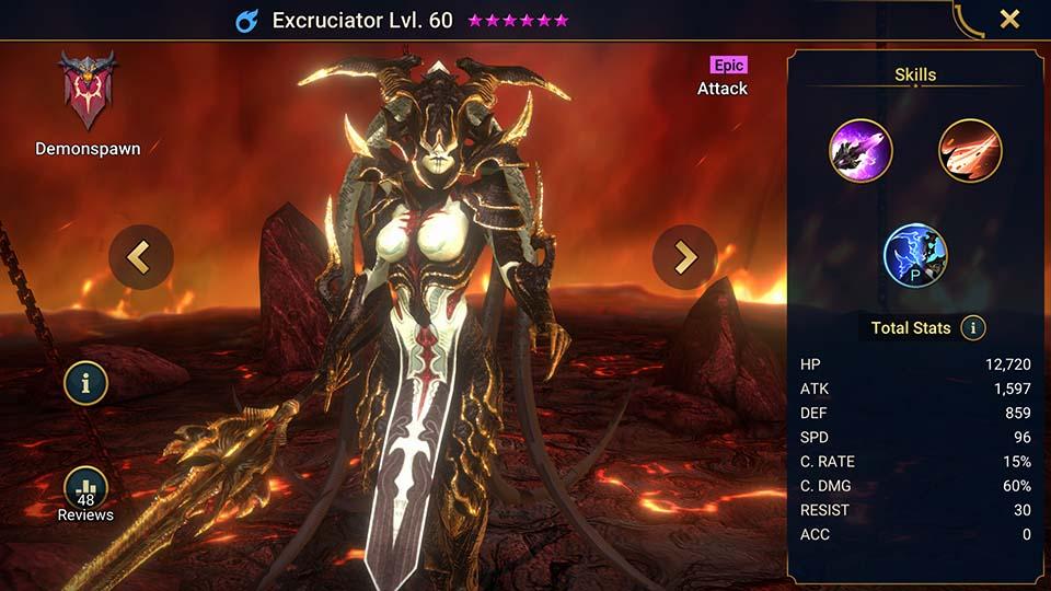 Raid Shadow Legends Excruciator
