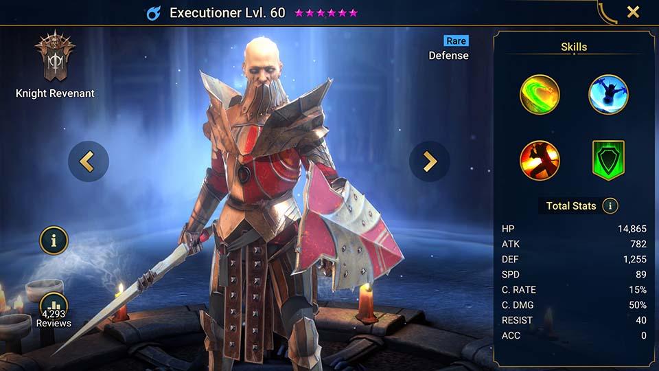 Raid Shadow Legends Executioner