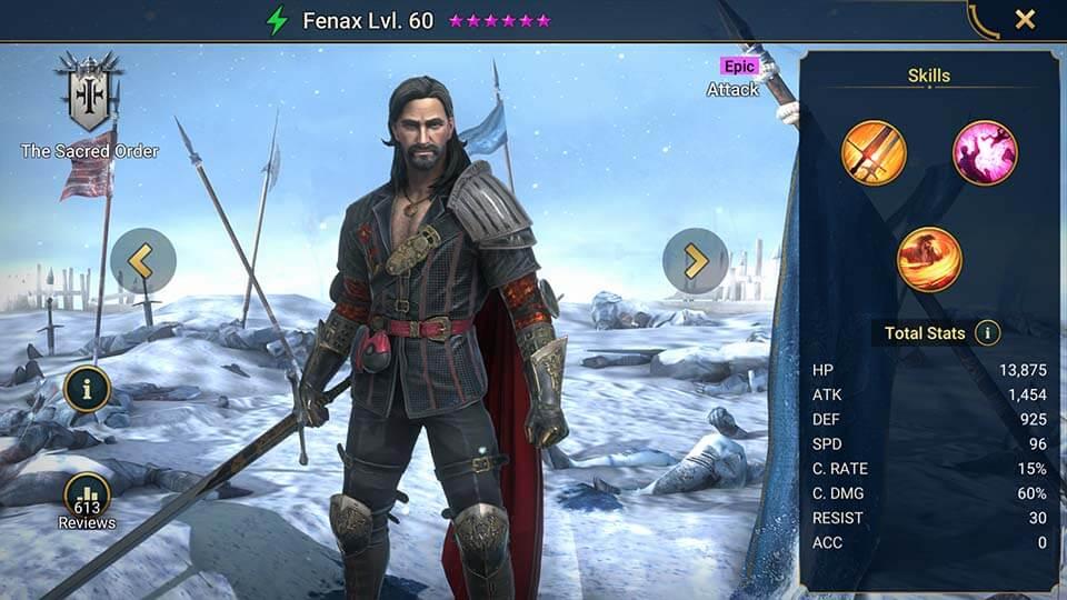 Raid Shadow Legends Fenax