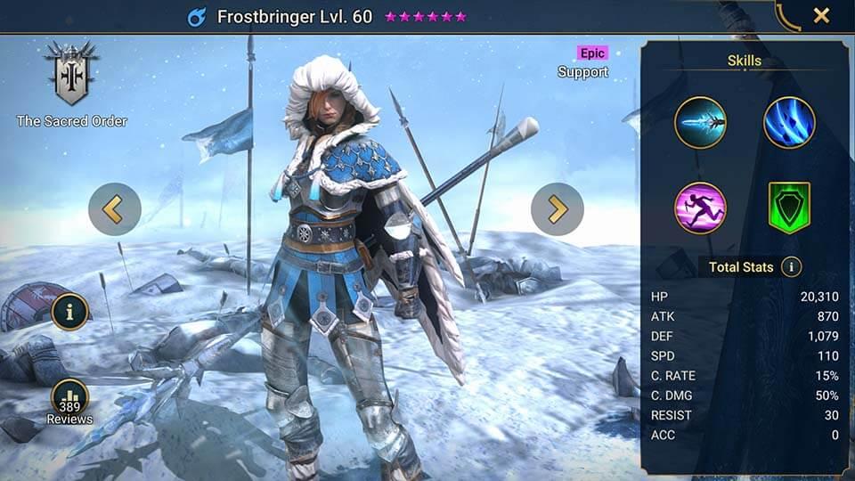Raid Shadow Legends Frostbringer