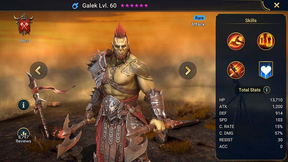 Raid Shadow Legends Galek