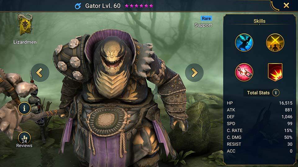 Raid Shadow Legends Gator