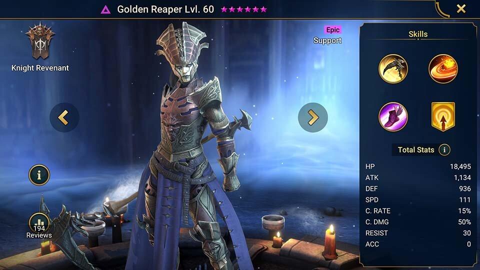 Raid Shadow Legends Golden Reaper