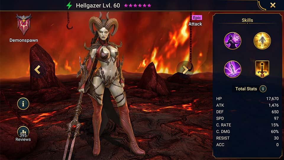 Raid Shadow Legends Hellgazer