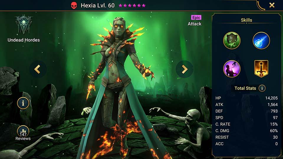 Raid Shadow Legends Hexia
