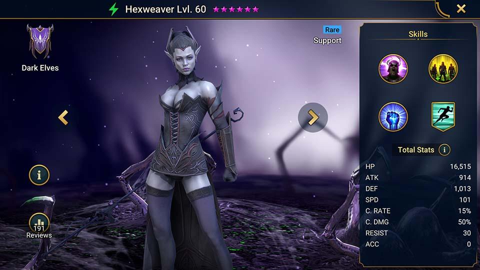 Raid Shadow Legends Hexweaver