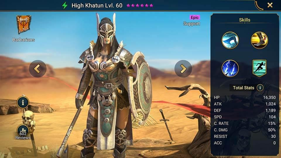 Raid Shadow Legends High Khatun