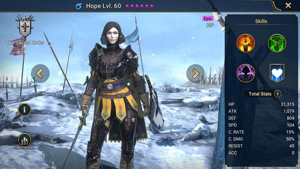 Raid Shadow Legends Hope