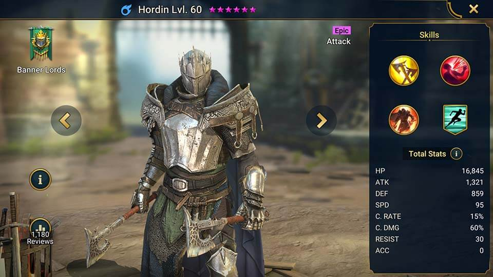 Raid Shadow Legends Hordin