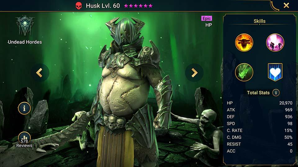 Raid Shadow Legends Husk