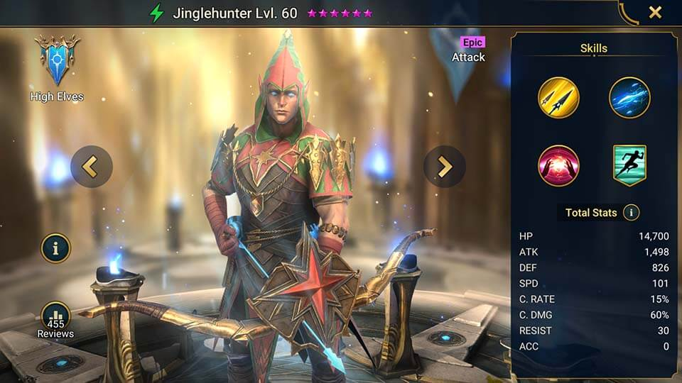 Raid Shadow Legends Jinglehunter