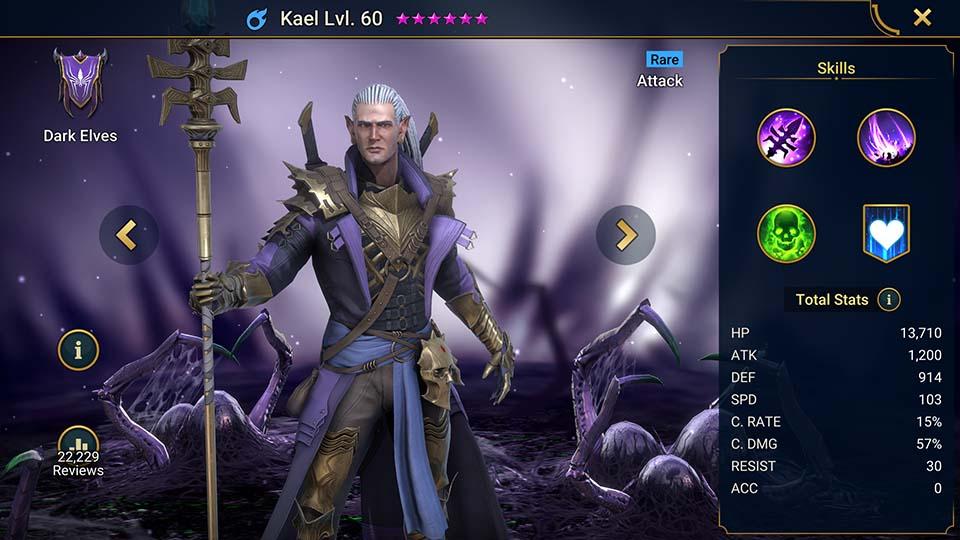 Raid Shadow Legends Kael