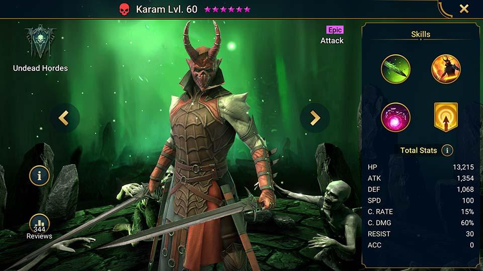 Raid Shadow Legends Karam