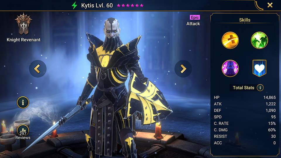 Raid Shadow Legends Kytis