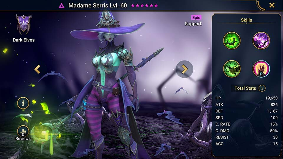 Raid Shadow Legends Madame Serris