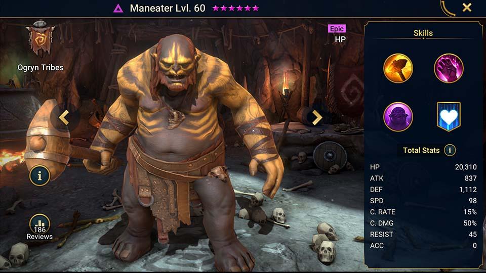 Raid Shadow Legends Maneater
