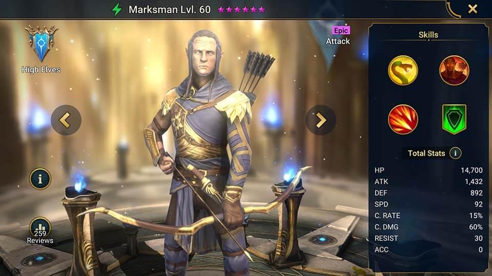 Raid Shadow Legends Marksman