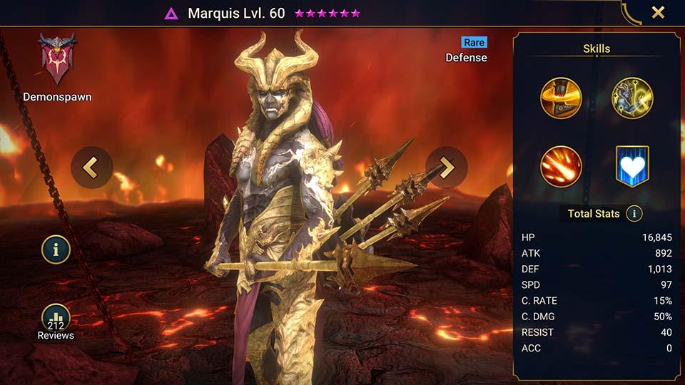 Raid Shadow Legends Marquis