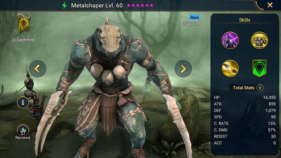 Raid Shadow Legends Metalshaper