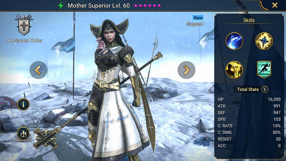Raid Shadow Legends Mother Superior