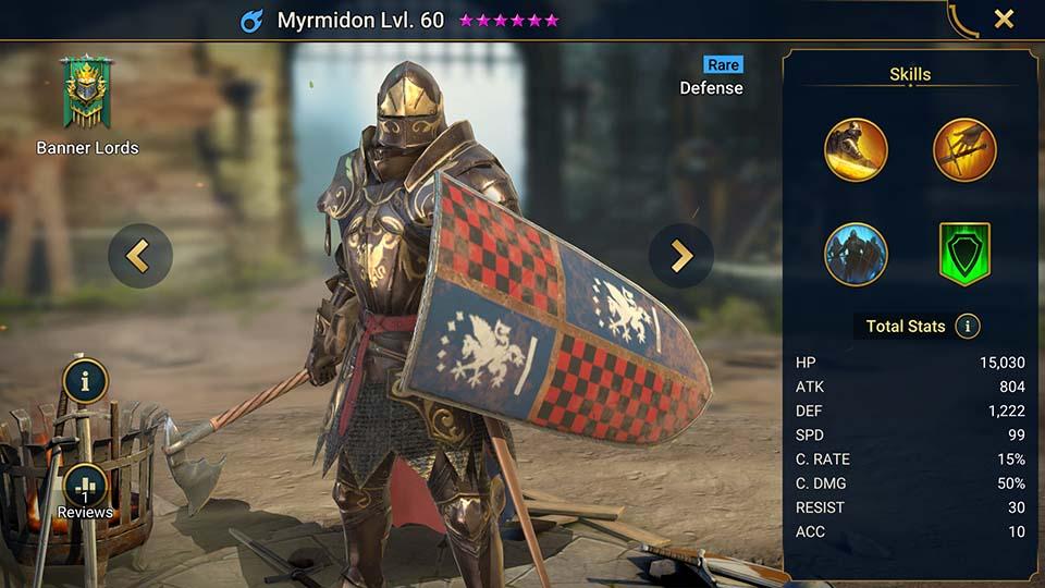 Raid Shadow Legends Myrmidon
