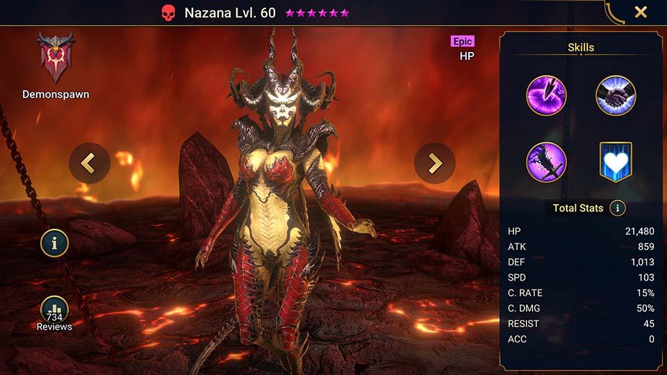 Raid Shadow Legends Nazana
