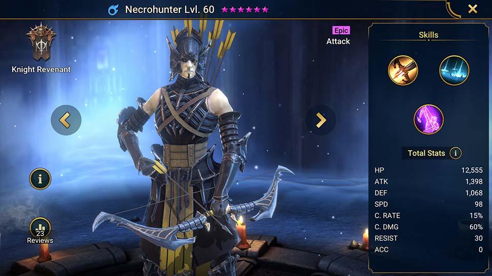 Raid Shadow Legends Necrohunter