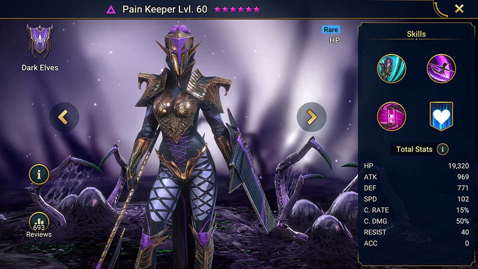 Raid Shadow Legends Pain Keeper