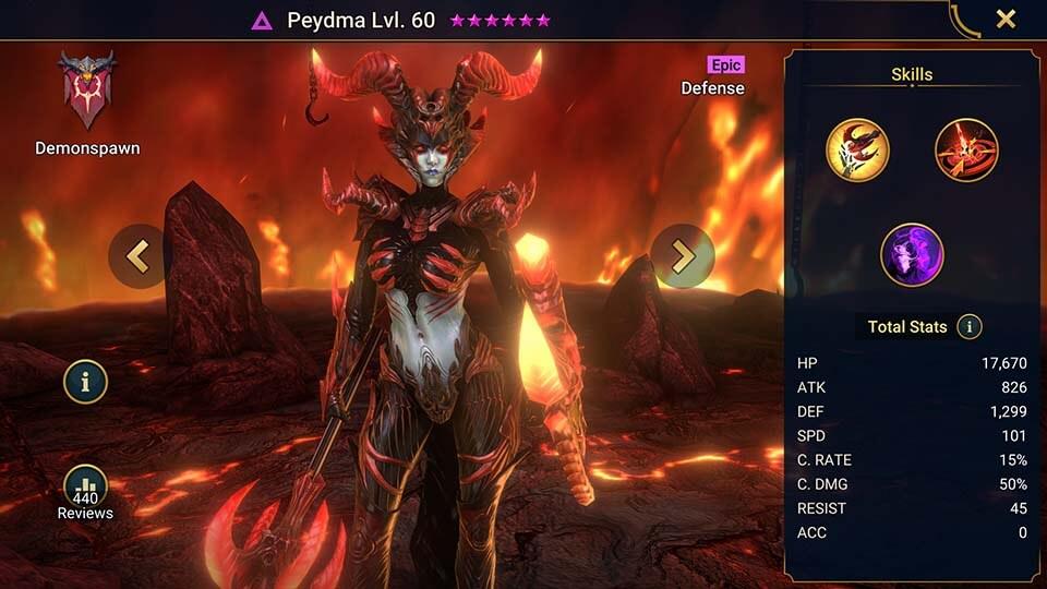 Raid Shadow Legends Peydma