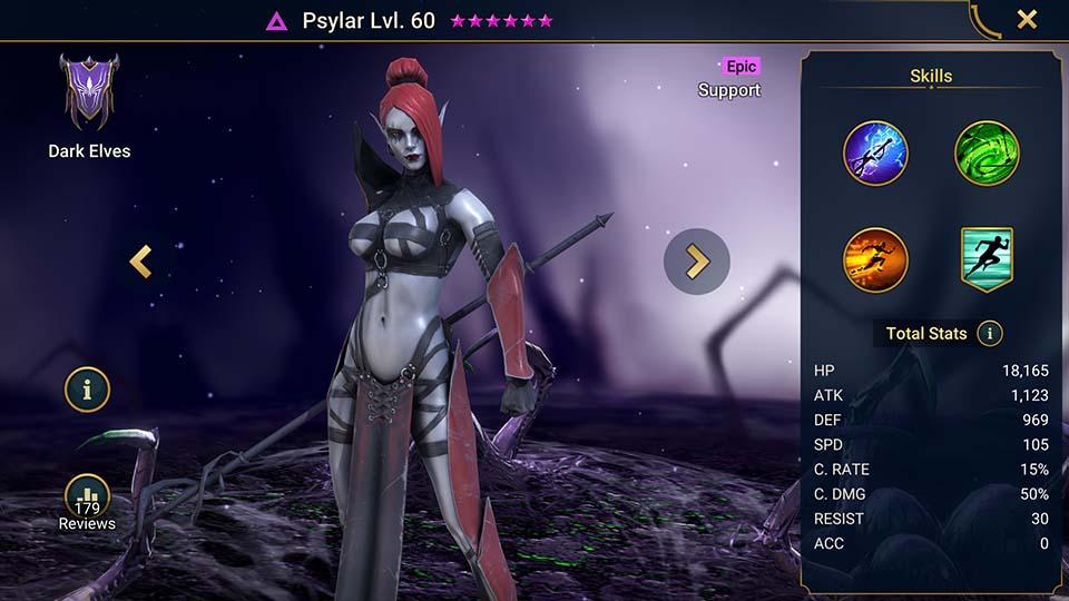 Raid Shadow Legends Psylar