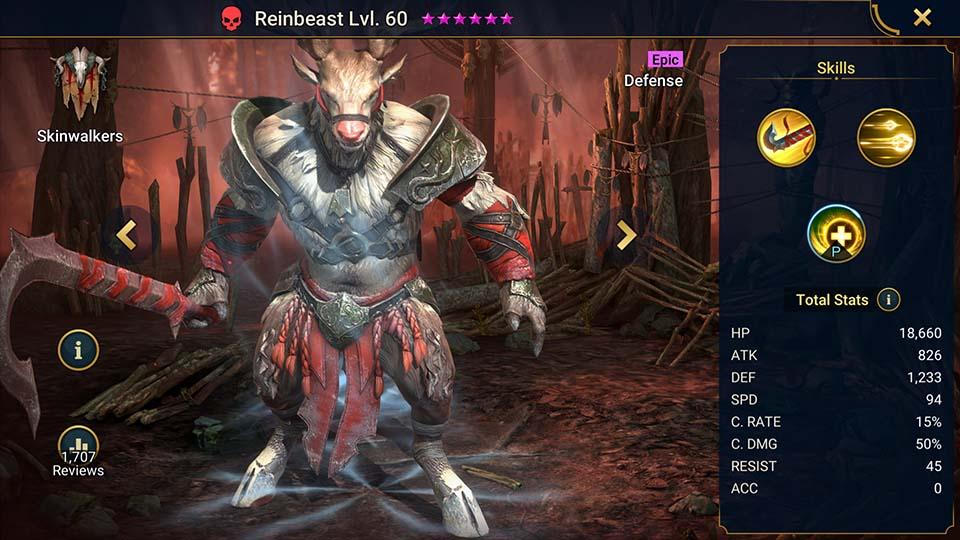 Raid Shadow Legends Reinbeast