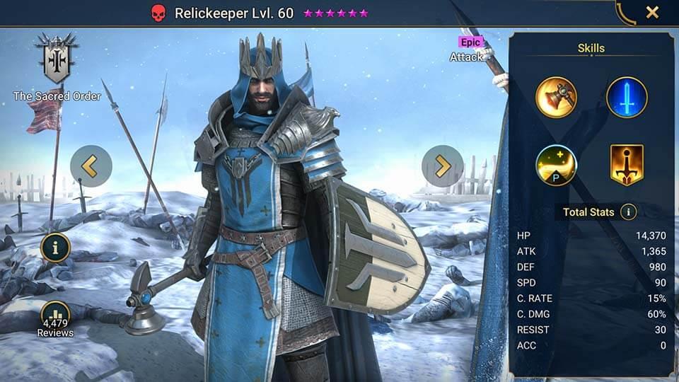 Raid Shadow Legends Relickeeper