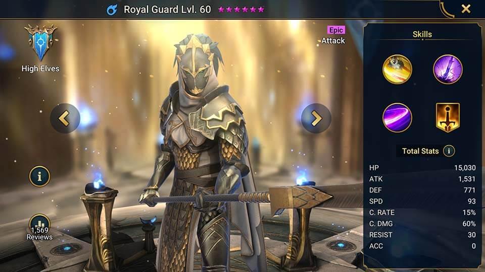 Raid Shadow Legends Royal Guard