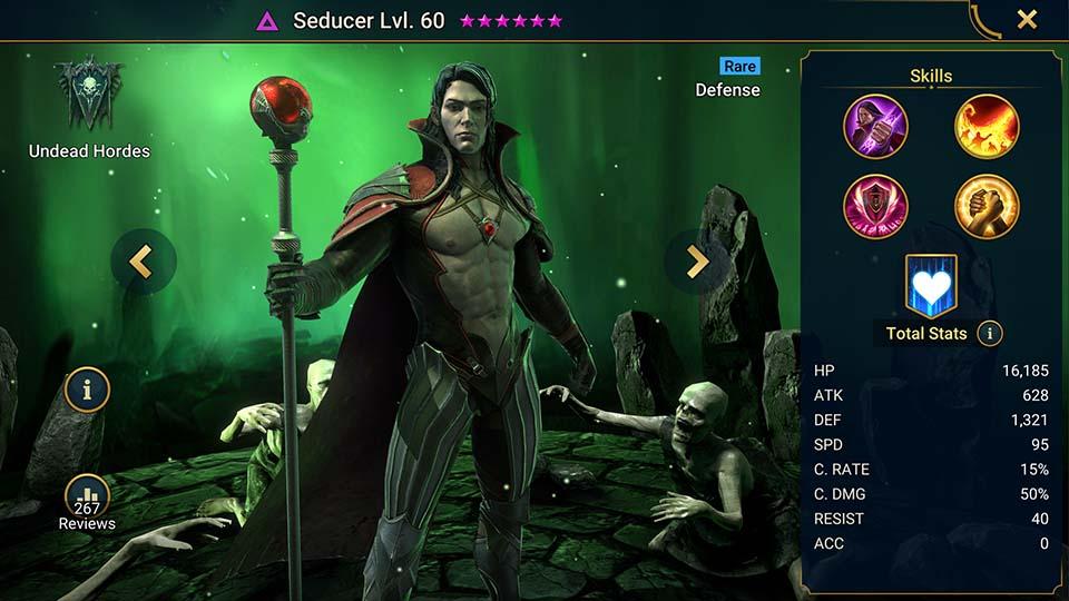 Raid Shadow Legends Seducer
